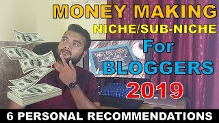 6 Niche Website Ideas 2019 - How to Select a MONEY MAKING NICHE in 2019 - With Recommendations