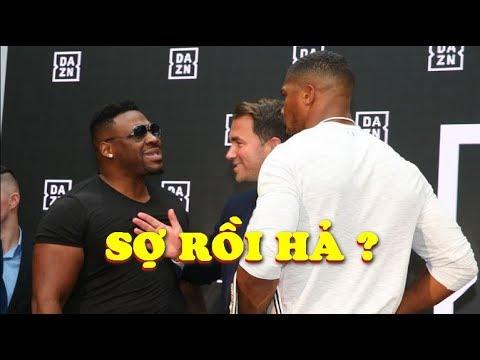 Jarrell Miller COI THƯỜNG Anthony Joshua Trước Đại Chiến Boxing Hạng Nặng 2019