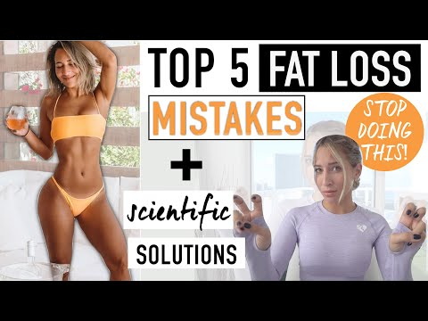 WHY YOU AREN'T LOSING BODY FAT & what you should do instead (REAL SCIENCE)