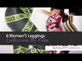 6 Women'S Leggings Collection By Vska Spring 2017 Collection