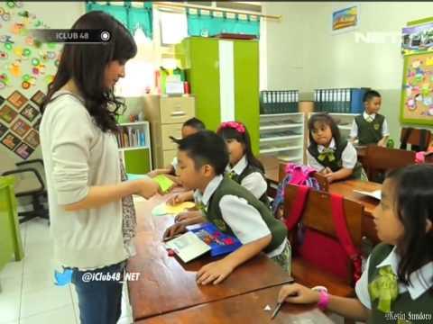 [FULL] HD Ve & Ayana JKT48 Ngajar @ iCLUB48 NET TV