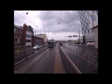 Helsingin Raitiolinja:7 Länsiterminaali-Pasila Uusi reitti(2017).Helsinki Tramline:7new route(2017)