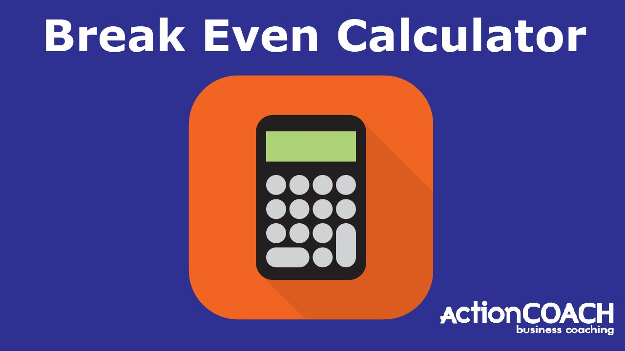 how to calculate share of total market to break even