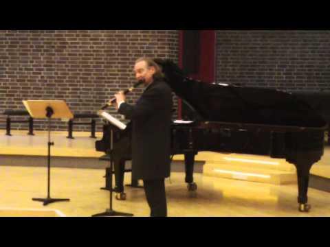 Patrick Gallois, Telemann Fantasie fis-moll für Flöte Solo