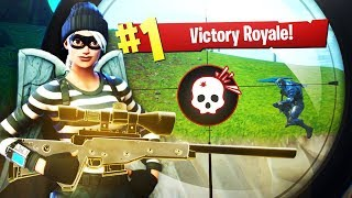 CRAZIEST LAUNCHPAD *NO SCOPE WIN* EVER (Fortnite Battle Royale - Cizzorz Highlights #37) thumbnail
