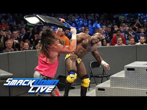 Apollo Crews vs. Dolph Ziggler - Chairs Match: SmackDown LIVE: Feb. 28, 2017