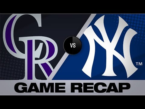 Encarnacion, Judge lead Yankees past Rockies | Rockies-Yankees Game Highlights 7/19/19