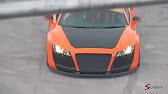 Supercar Megabuild Shane Lynch Audi Drift Car Gymkhana Grid