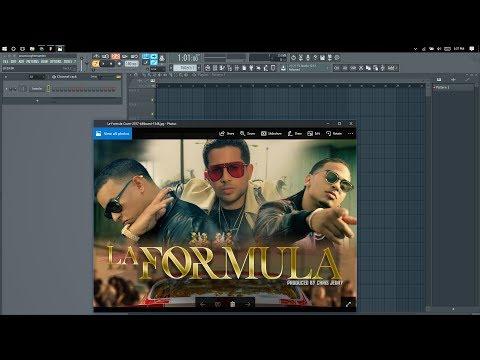 La Formula - Daddy Yankee, Ozuna,  De La Ghetto instrumental (Remake) (FLP)