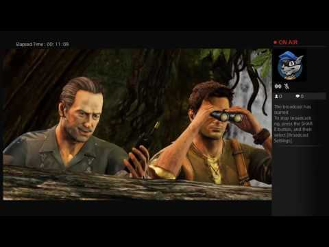 Uncharted 2 gameplay live