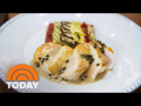 Seared Swordfish Pepper Steak Perfect For Valentine's Day Dinner | TODAY