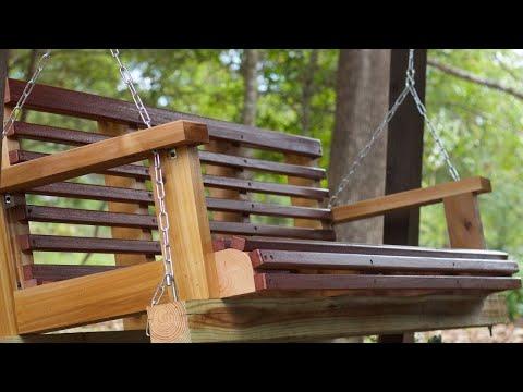 DIY Porch Swing Build