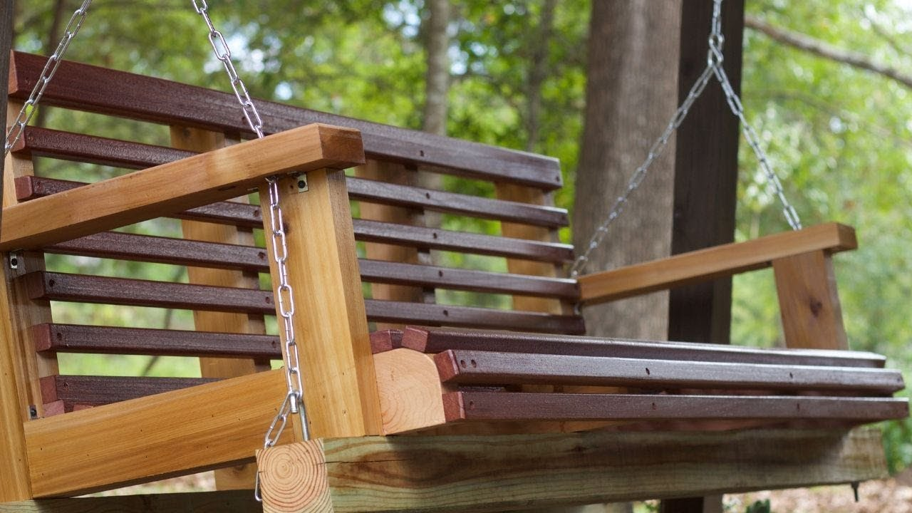 Diy Porch Swing Build You