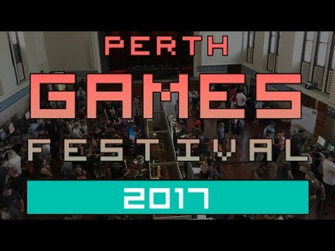 Perth Games Festival 2017 Timelapse