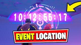 Fortnite EVENT Countdown Location (Ariana Grande)