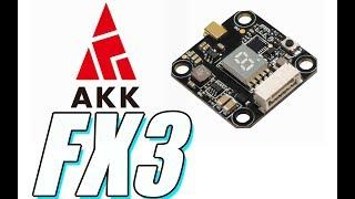 AKK FX3 Review : 20X20, MMCX, Smart Audio, $19, and 600mW!