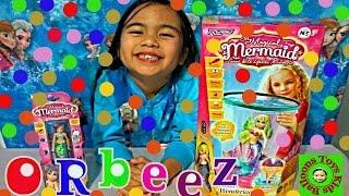 ORBEEZ GLOW IN THE DARK Water Wonderland Robo My Magical Mermaid Zuru Kids Balloons and Toys