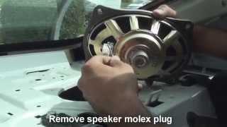remove rear speakers Altima 2013-2014