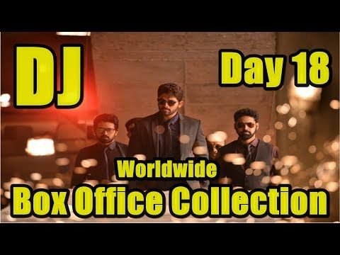 DJ Worldwide Box Office Collection Day 18