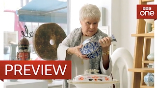Dame Judi Dench in the china shop - Tracey Ullman's Show: Series 2 Episode 3 Preview - BBC One