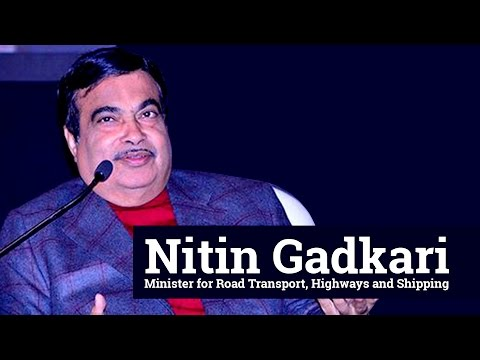 Nitin Gadkari, minister for highways and shipping delivers keynote address at InfraCircle launch