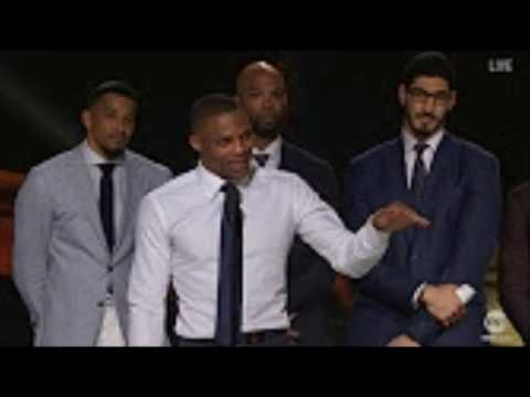 Russell Westbrook gave Most Valuable Speech for NBA MVP Award