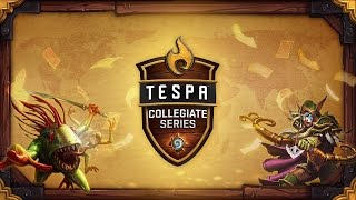 Shawnee State vs UC Berkeley - TCS: Hearthstone Quarter Finals