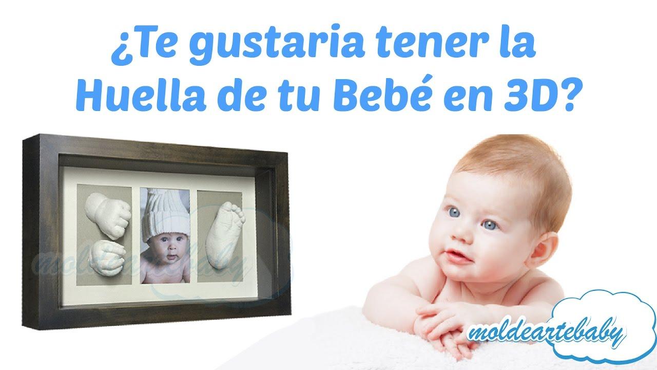 Quieres hacer las Huellas de tu Bebé en 3D? - YouTube