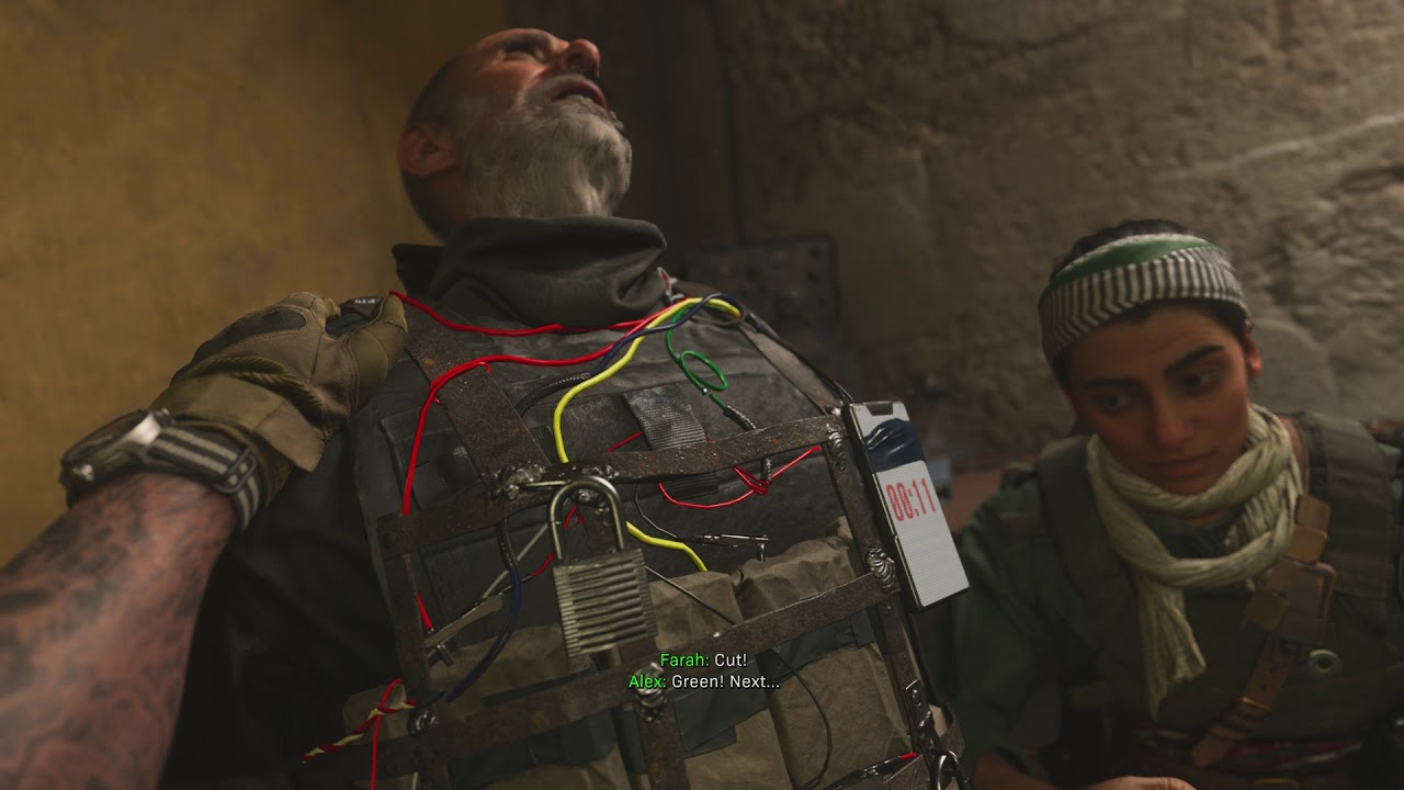 Download Call of Duty Modern Warfare - The Wolf's Den: Farah Kills The Wolf: Cut Wires To Disarm Bomb (2019)