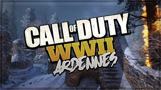Call of Duty WWII – Ardennes Multiplayer Map