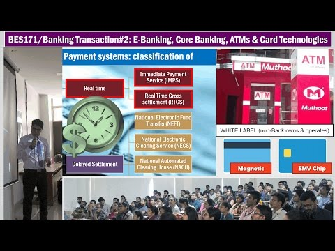 BES171/Banking Transaction#2: Core Banking & E-Kuber; Card T