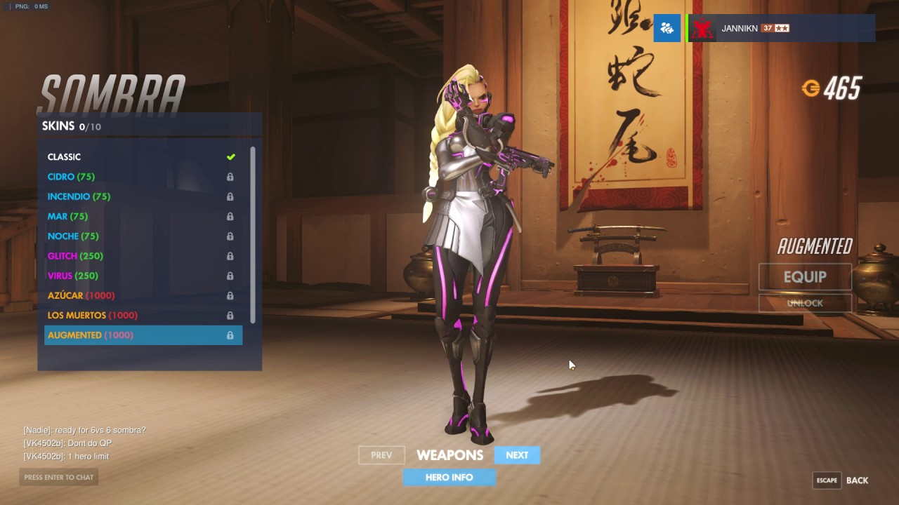 ALL Sombra Skins Highlight Intros Emotes And Voice Lines