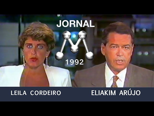 Leila e Eliakim, 1992, Escalada do Jornal da Manchete [Melhor Qualidade]