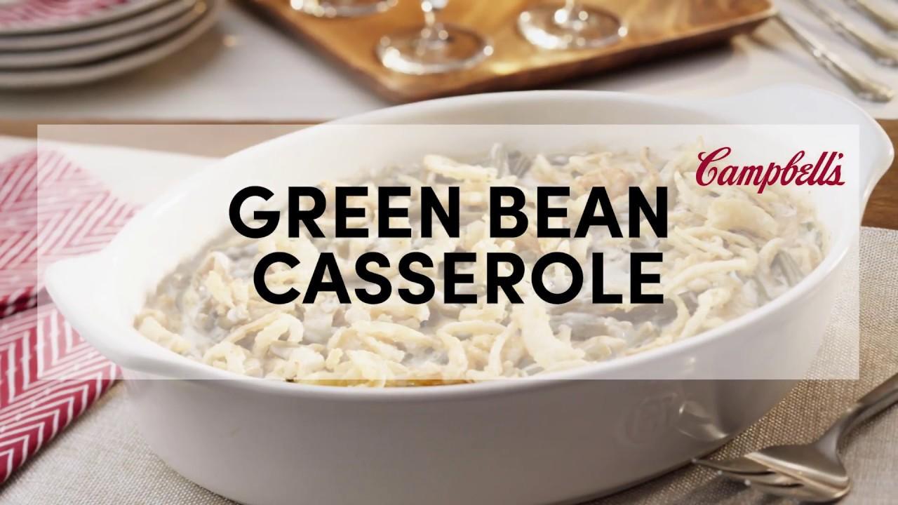 Green Bean Casserole Recipe | Campbellu0027s Kitchen