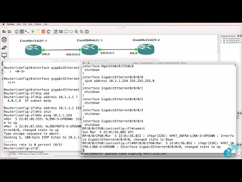 GNS3 Talks: Cisco IOS-XRv import and configuration Part 2: Don
