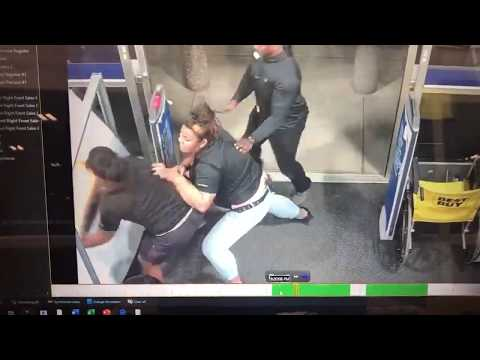 BEST BUY EMPLOYEE TAKES DOWN THIEF