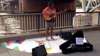 Write me a letter - Sherika Sherard (original song) - street performer