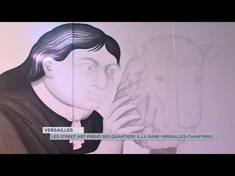 """Street-Art : le """"Graff"""" prend ses quartiers à Versailles"""