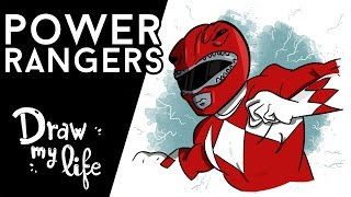 La HISTORIA de POWER RANGERS - Movie Draw