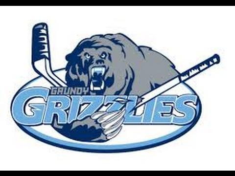 Hatfield Ice Hawks White vs   Grundy Grizzlies 02 11 2017