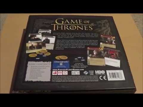 A Game of Thrones Boardgame Second Edition - amazon.com