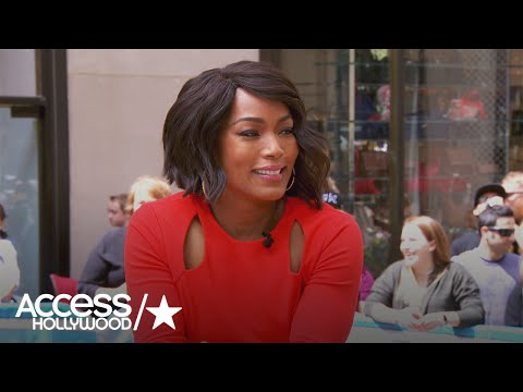 Angela Bassett Shares Details About New Ryan Murphy Drama '911' | Access Hollywood