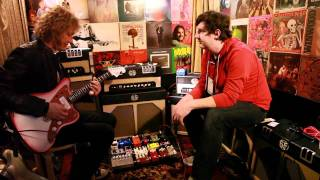 Video JHS Pedals Demo by Peter Stroud and Joshua Scott at NAMM 2012 download MP3, 3GP, MP4, WEBM, AVI, FLV November 2017