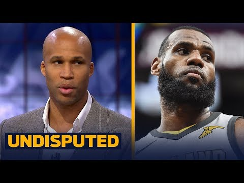 Richard Jefferson on playing with LeBron, Talks key to Cavs winning Game 2 vs Pacers   UNDISPUTED