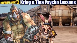 Borderlands 3 - Krieg helps Tiny Tina with Psycho Lessons