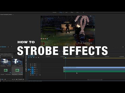How to Add Strobe Effects in Adobe Premiere Pro CC - Help Desk