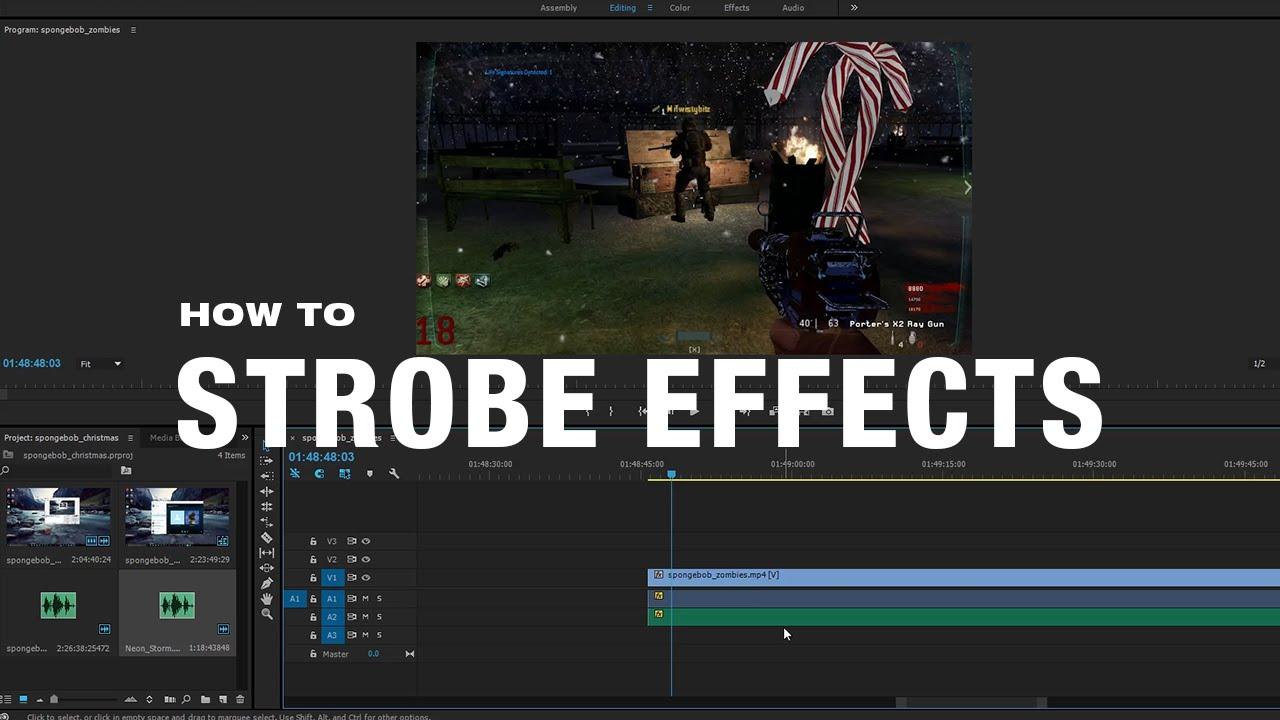 How To Add Strobe Effects In Adobe Premiere Pro CC   Help Desk