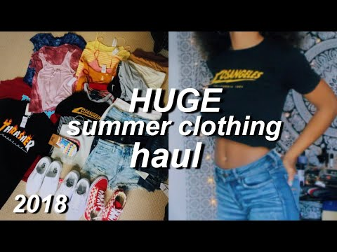 HUGE $800 Summer Clothing Try On Haul!   Azlia Williams