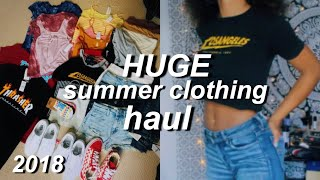 summer tryon clothing haul