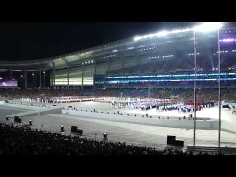 Incheon 2014 Asian Games, Opening Ceremony. HD